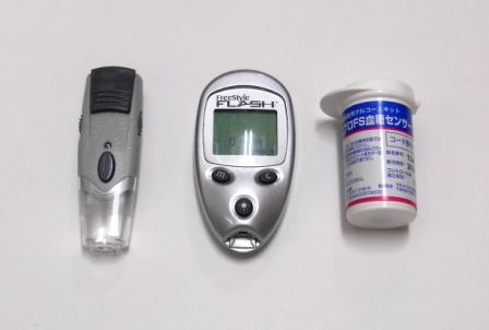 簡易血糖測定器
